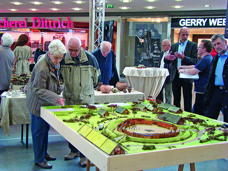 Modell Kreisgrabenanlage