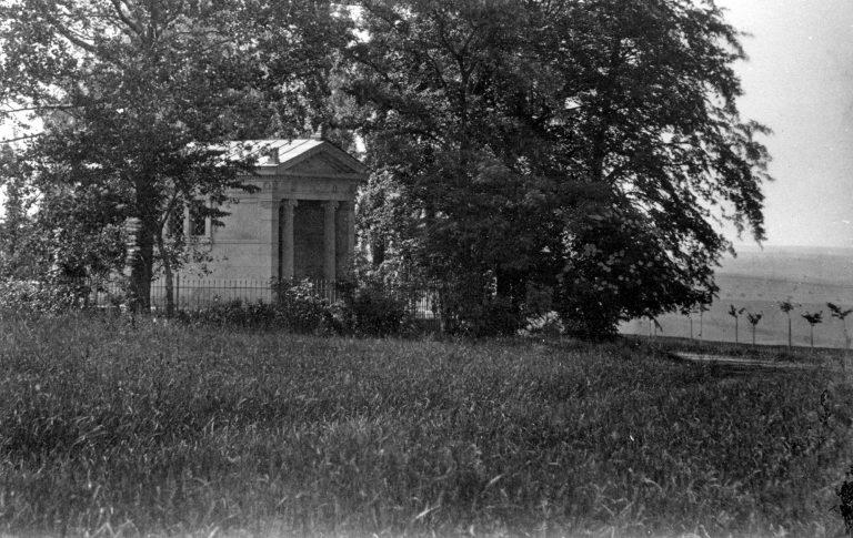 Das Mausoleum vor 1945