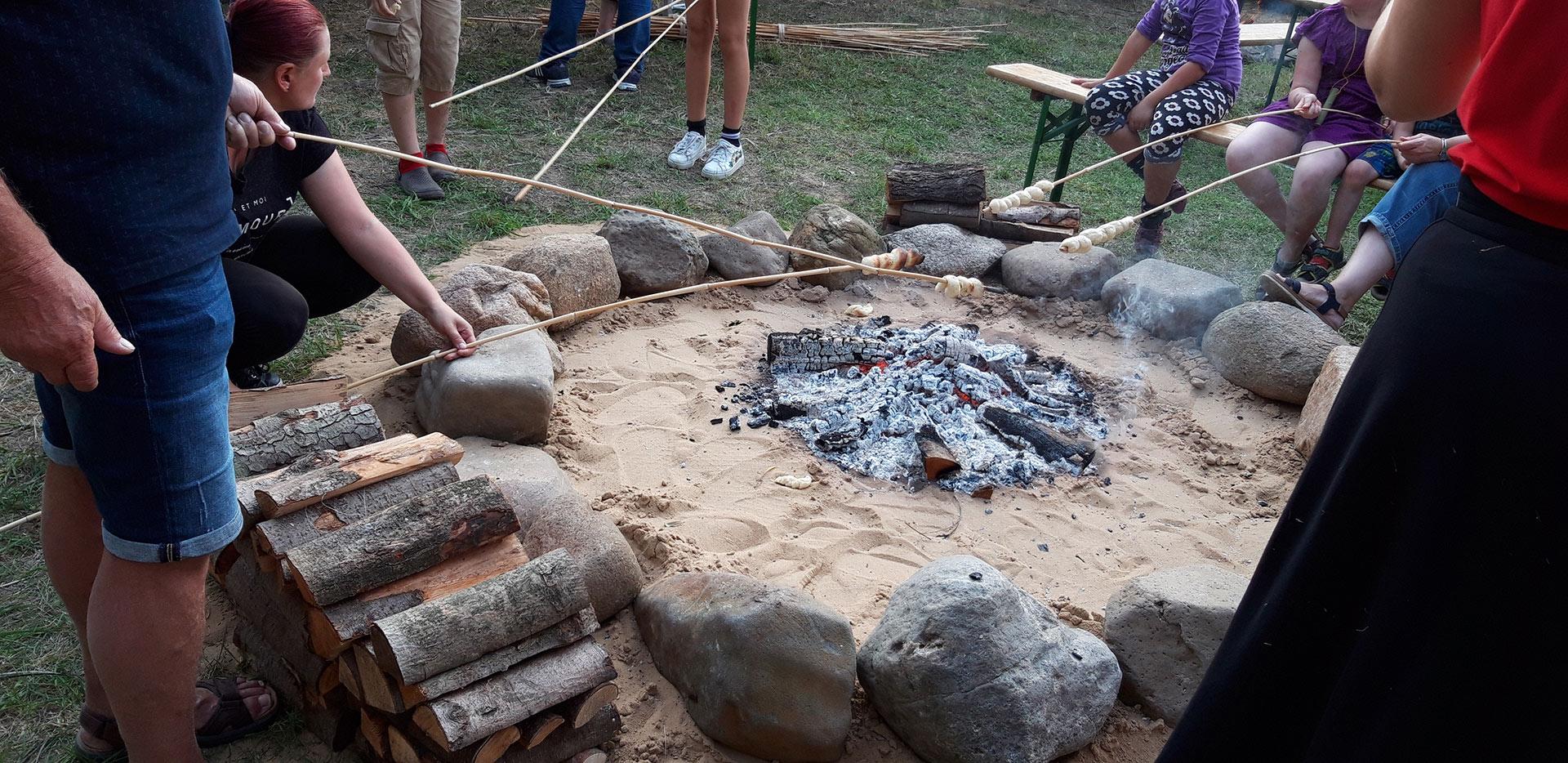 Neolithische Essenszubereitung
