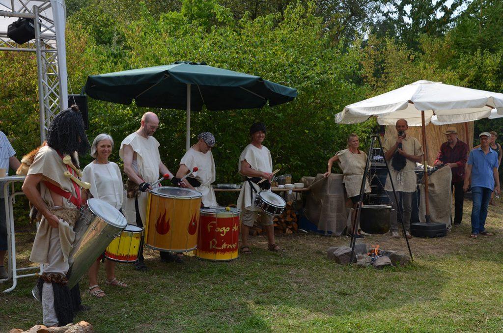 Percussions-Gruppe Fogo-do-Ritmo aus Dresden
