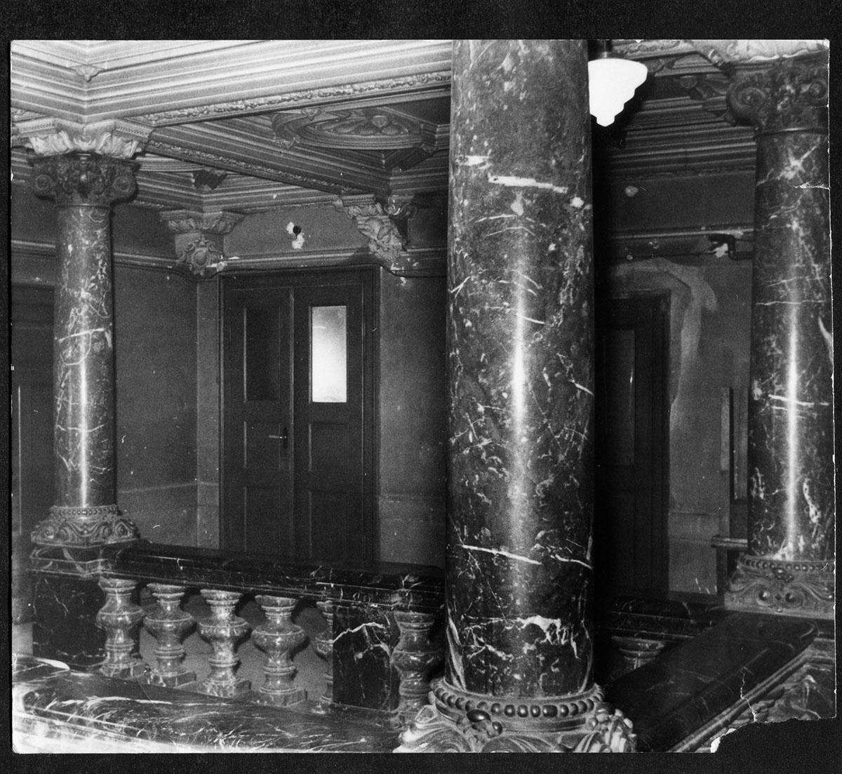 Schloss Prohlis Vorsaal Treppenhaus
